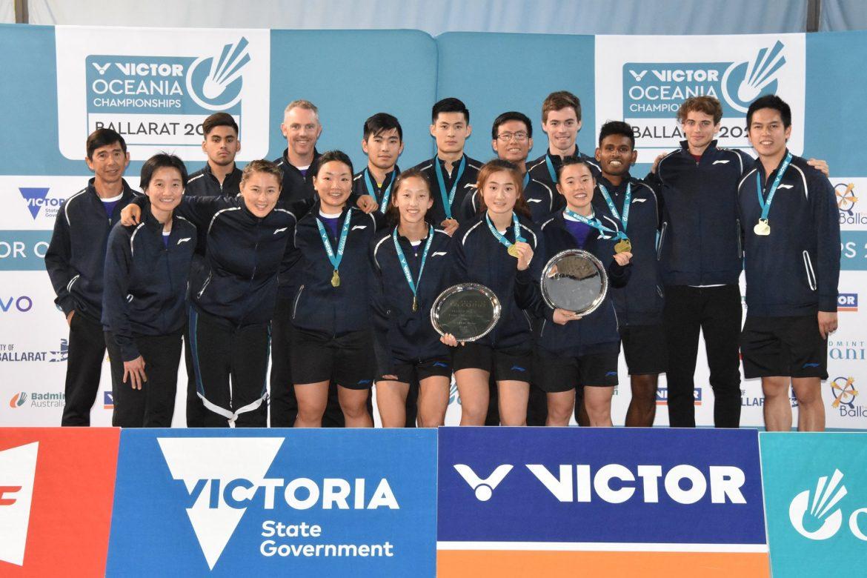 Badminton Australia Take Men's
