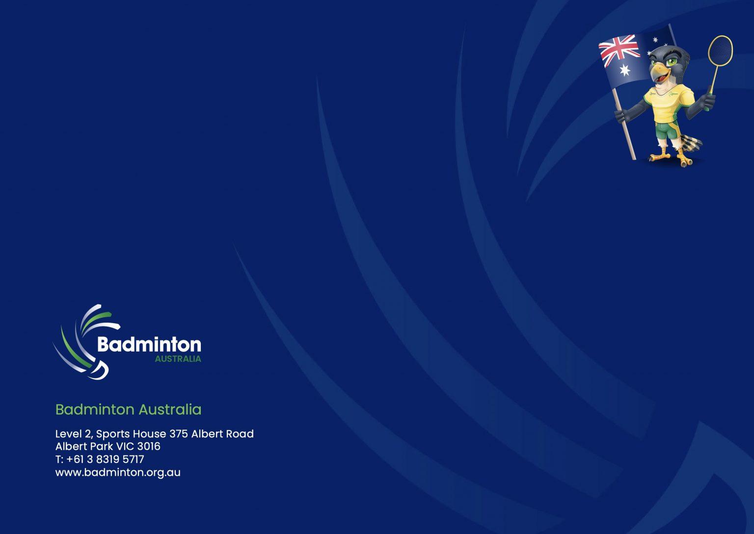 Badminton National Plan Page 8